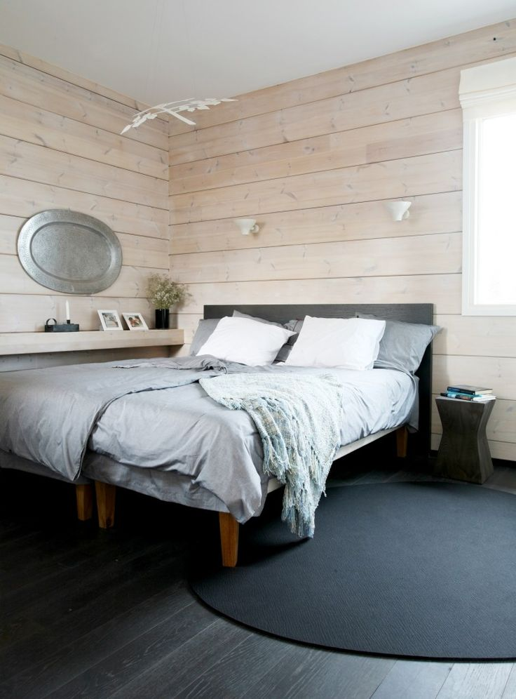 Honka Blockhaus Modell Rock Schlafzimmer