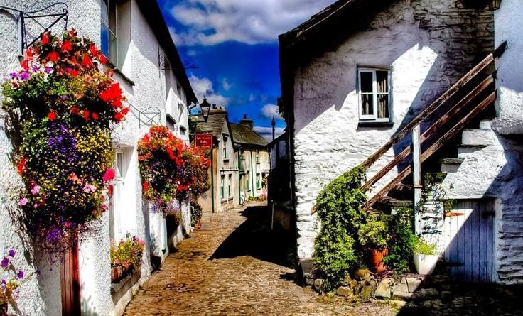 Hawkshead, Lake District, England