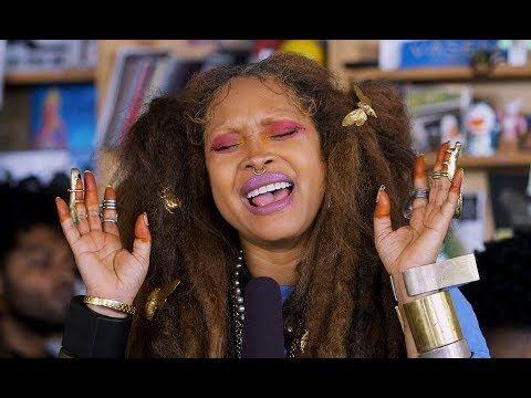 Erykah Badu Tiny Desk Concert @NPR #neosoul #jazz YouTube