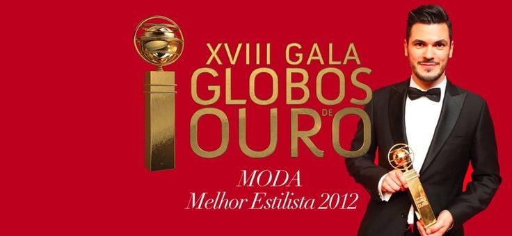 Congratulations Nuno Baltazar Golden Globe for  Best Fashion Designer 2013