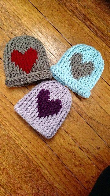10 Best Preemie Beanie Crochet Pattern Images On Pinterest Knit