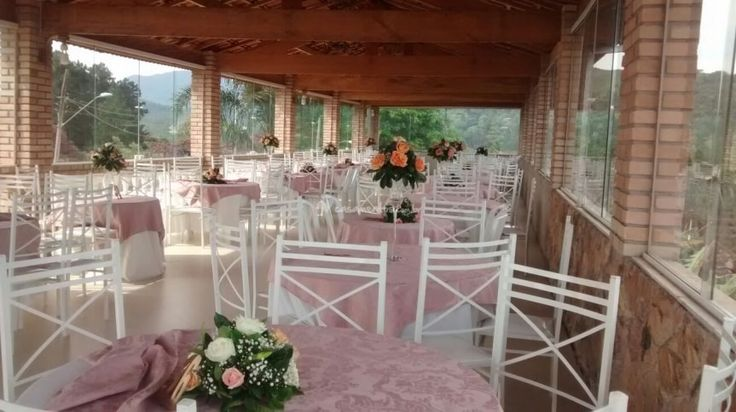 Salão superior de Recanto do Beija Flor Eventos   Foto 18