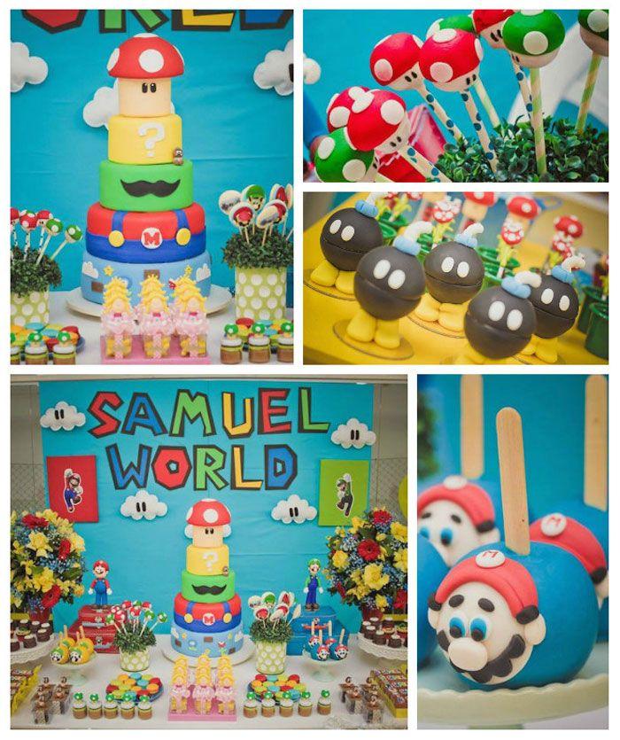 Super Mario World Birthday Party
