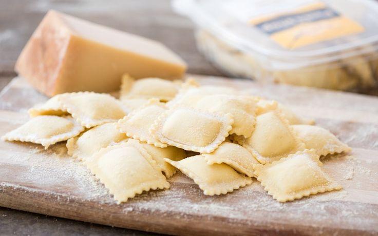 The Pasta Shop Fresh Three Cheese Ravioli [blend of ricotta, Parmesan and creamy mozzarella]