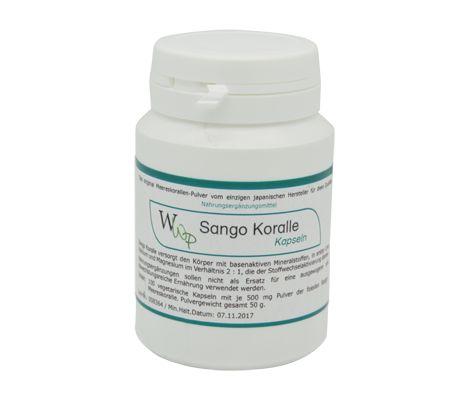 Sango Koraal capsules bevatten de basische mineraalstoffen calcium en magnesium die ter ondersteunening dienen voor het lichaam. | De Gezonde Bron, dé webshop voor natuurlijke verbetering van uw gezondheid.
