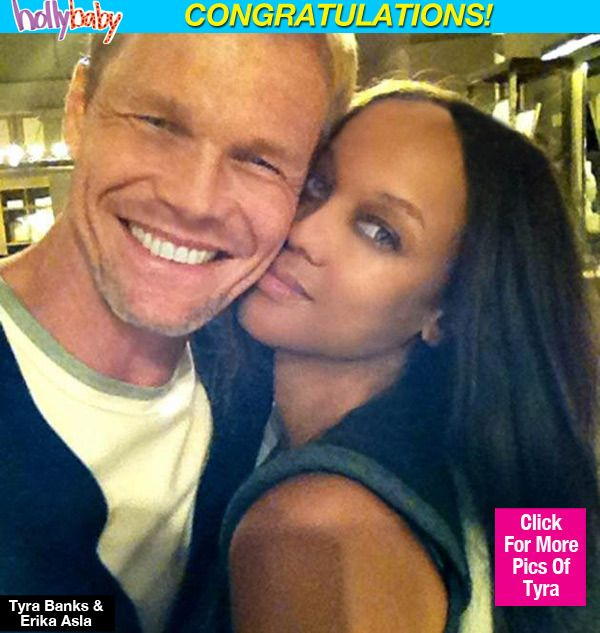 Tyra Banks & Boyfriend Erik Asla Welcome 'Miracle Baby Boy' by surrogate the little guy was named York Banks.Asala.