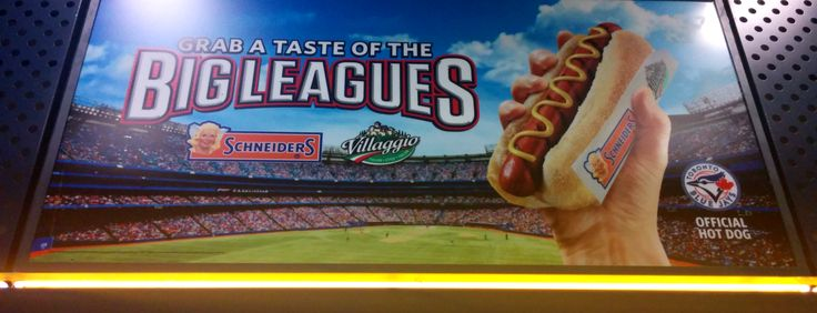 Schneiders, the official hot dog of the Toronto Blue Jays!