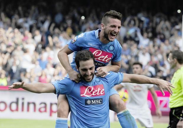 Due rigori di Higuain e il Napoli supera il Torino   © @Roberto Salomone
