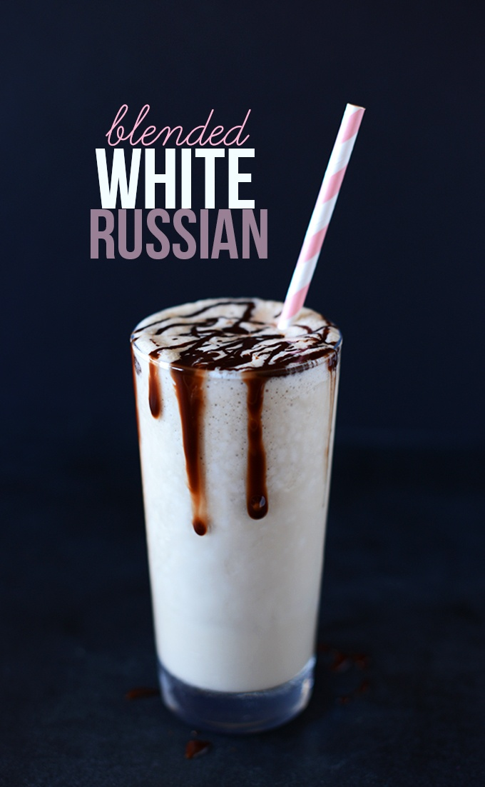 Blended White Russian