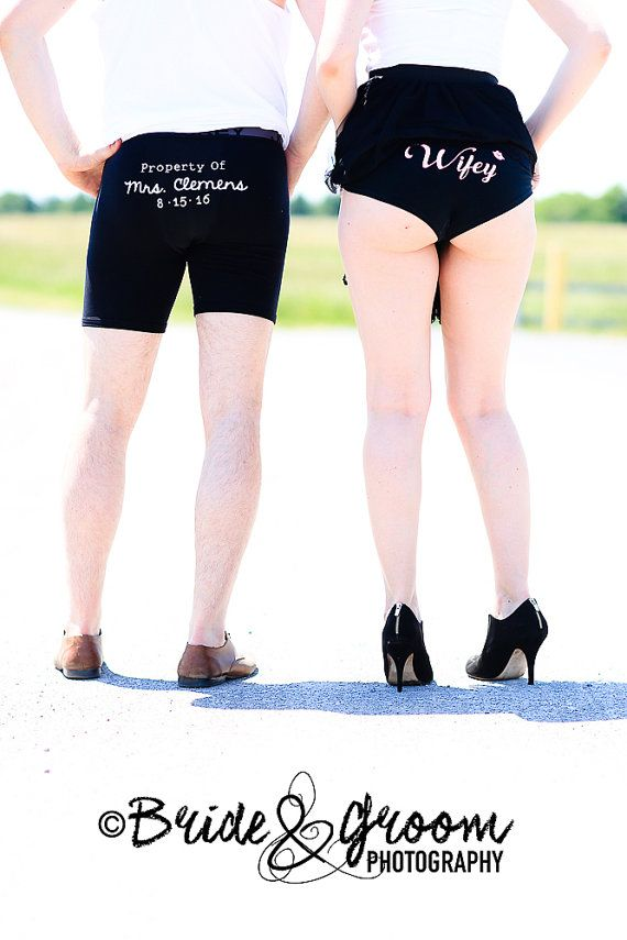 Personalised Property of Wedding Undergarment IRON ON VINYL Decal for DIY of Mens Wedding Underwear, Wedding Boxer Briefs, Husband Underwear, Groom Boxer & Wedding Gifts. Take the guess work out of finding the right fit!! Simply order our IRON ON Vinyl Transfers and DIY his favourite style of underwear that is sure to fit him for his BIG DAY! This READY-to-USE Personalised Property of Mrs. Iron On Vinyl Decal is affordable, made with premium true fine grain glitter flake vinyl with a…