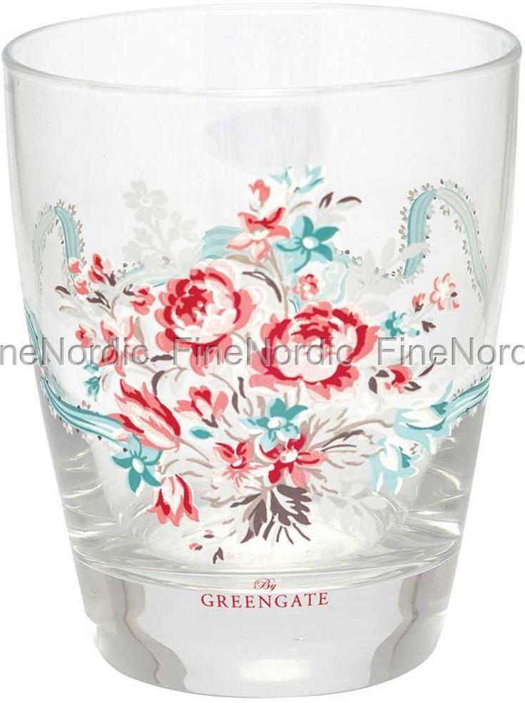 Water Glass Betty White, from GreenGate.