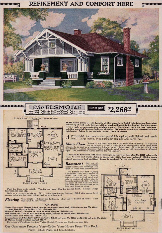 Sears Roebuck Kit Houses 1923 Craftsman Sears Roebuck