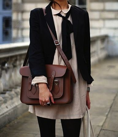 Cambridge satchel.