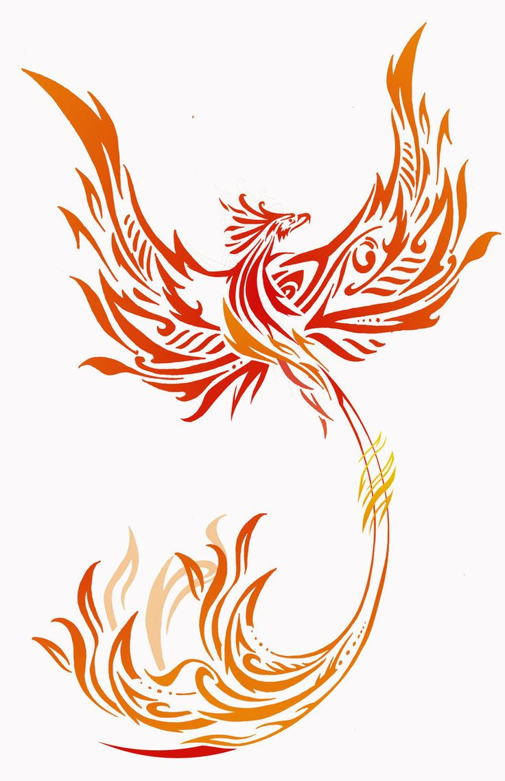 Phoenix 2 by rainingcrow.deviantart.com on @DeviantArt