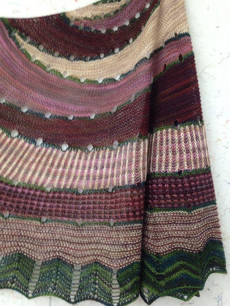 Ravelry: supknitter's Westknits Mystery Shawl KAL 2014: Exploration Station