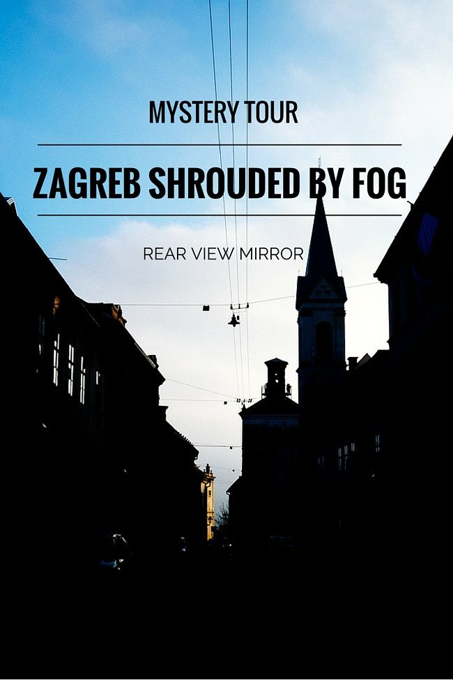 Zagreb Shrouded by Fog