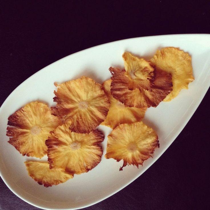 Ананасовые чипсы — Кулинарная книга - рецепты, фото, отзывы