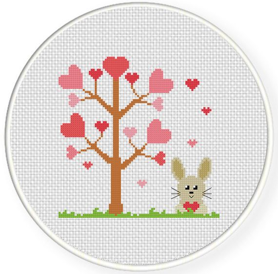 FREE for Feb 14th Only - Love Season Cross Stitch Pattern