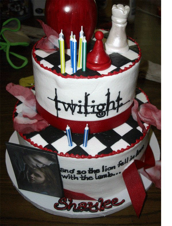 Amazing Cakes | ... :Team-jacob girl/Amazing Twilight Birthday Cakes - Twilight Saga Wiki