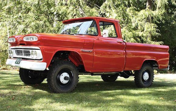 1960 Chevrolet Apache 10 4x4 Vehicles Pinterest