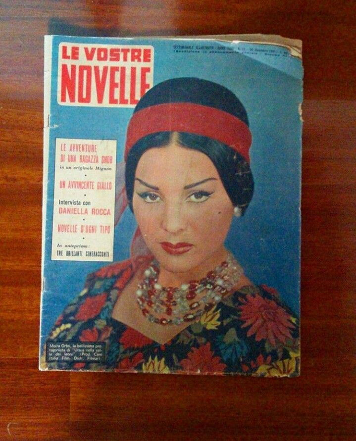 Moira Orfei, Le Vostre Novelle, 30 Dicembre 1961. #MoiraOrfei #Orfei #CircoOrfei #MirandaOrfei #Attrice #Peplum #PeplumFilm #Anni60 #60s #UrsursNellaValleDeiLeoni #1961 #LeVostreNovelle #RIP #TiVoglioBene #IconaDiStile #IconaPop #Cofana