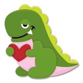 Free SVG File – Sure Cuts A Lot – 01.17.11 – Cute Dinosaur