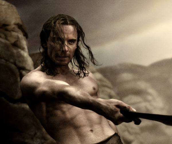 Michael Fassbender - 300 aka Stelios, my all time favourite Spartan!