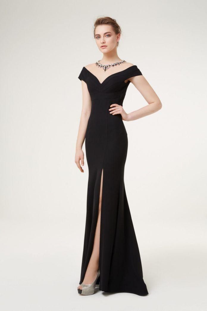 Özel Günlere En Güzel Siyah Abiye Elbise Modelleri  – Özel Gün Fikirleri