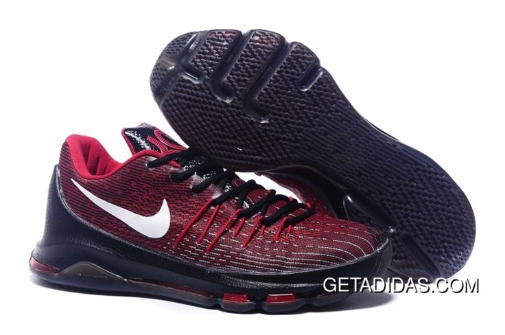 http://www.getadidas.com/nike-kd-8-black-red-white-shoes-topdeals.html NIKE KD 8 BLACK RED WHITE SHOES TOPDEALS Only $87.48 , Free Shipping!