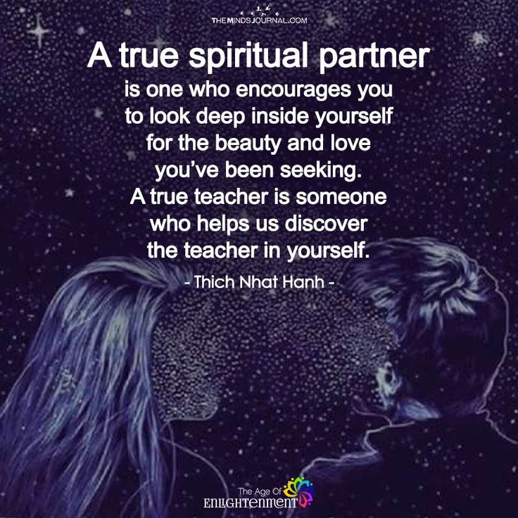 A True Spiritual Partner - https://themindsjournal.com/true-spiritual-partner/