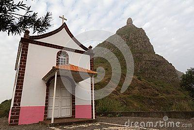 Chapel Our Lady Monte Cintinha, Zona Cachaço, São Nicolau, Cape Verde