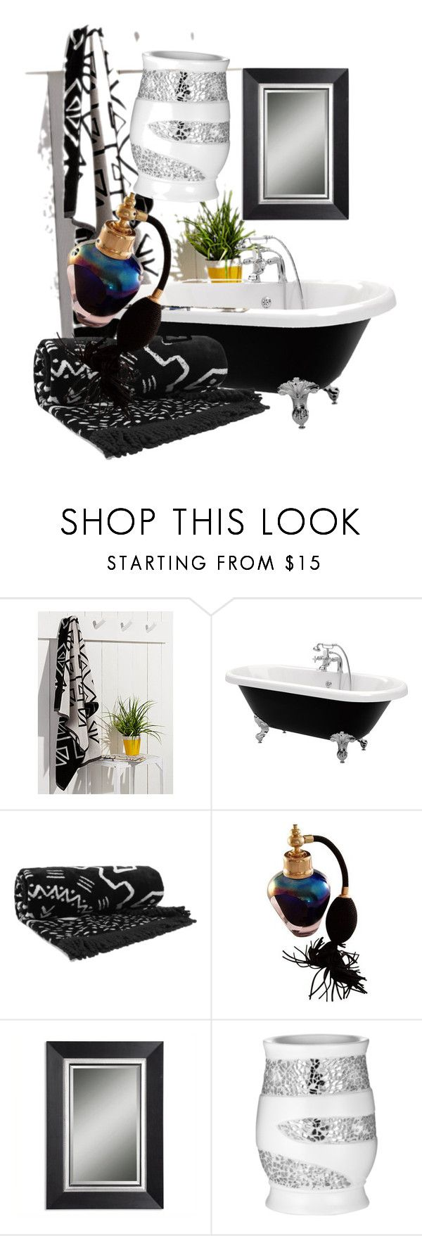 """""""Untitled #159"""" by vendys on Polyvore featuring interior, interiors, interior design, home, home decor, interior decorating, Simons Maison, The Beach People and Uttermost"""