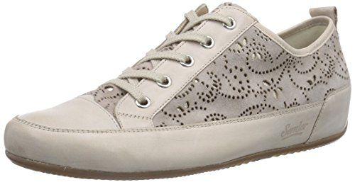 Semler Tracy, Damen Sneakers, Beige (742 sand-panna), 41 1/3 EU (7.5 Damen UK) - http://on-line-kaufen.de/semler/41-1-3-eu-semler-tracy-damen-sneakers