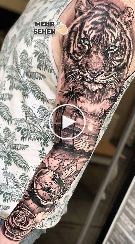 80 Männer Tattoos mit geschlossenem Arm für Inspiration
