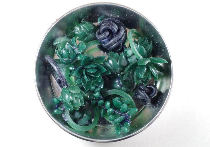 Wax prototypes of rings, earrings and pendants