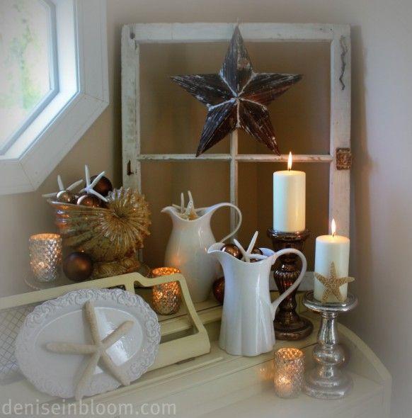 Bathroom Inspiring Nautical Bathroom Decor For Kitchen: 17 Best Ideas About Beach Christmas Decor On Pinterest