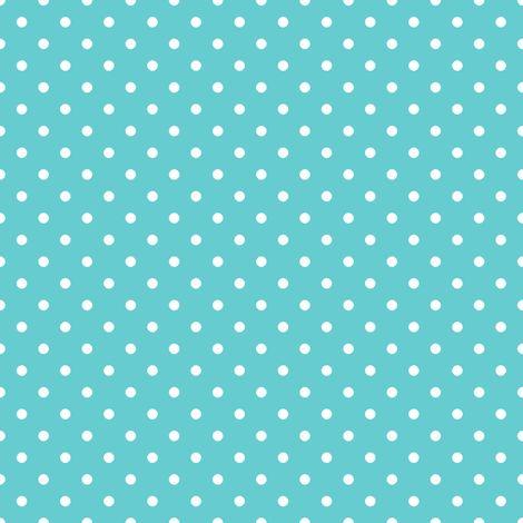 Pin Dot Teal fabric by littlerhodydesign on Spoonflower - custom fabric