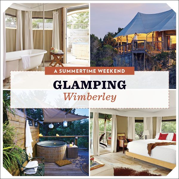 Plan a summertime weekend glamping in the ultimate tent for two using this guide with tips on what to do, where to eat, and where to stay.