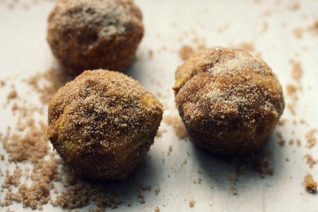 pumpkin doughnut muffins | Recipes: Rise and Shine | Pinterest