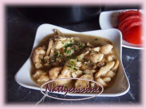 Je vous présente aujourd'hui une recette de poulet au marsala que nous avons fort apprécié, elle à été allégée au maximum pour conveni...