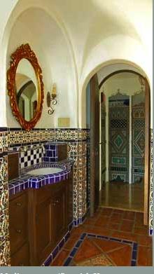 163 best spanish colonial revival remodel images on pinterest for Spanish revival tile