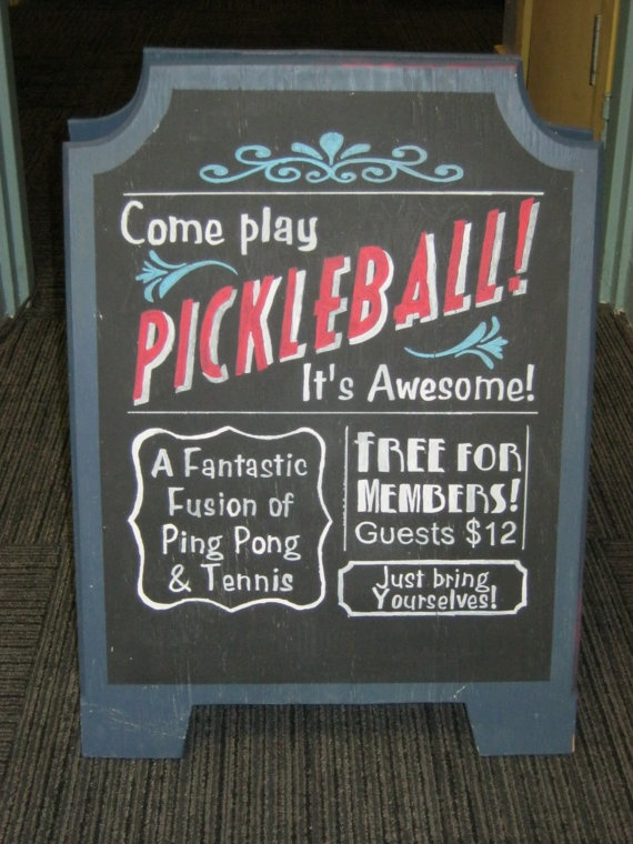 Sandwich Board Signs by RusticRescuer on Etsy, $100.00