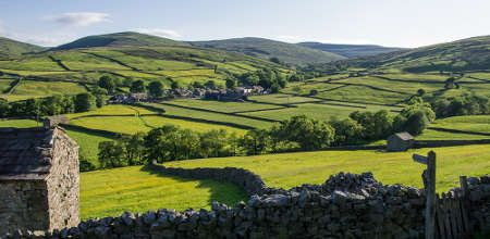 Yorkshire Pennines | Pennine Way in het Yorkshire Dales National Park, noord Engeland