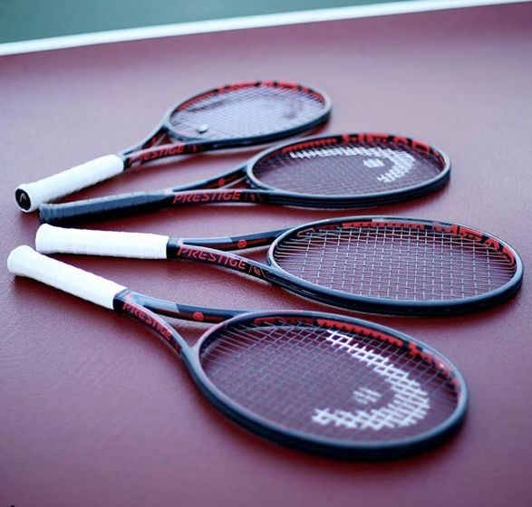 Have you tried the new Head Prestige Line yet? Check these racquets out right here! #newgear #improve #Headtennis #tennis #racquets #racket #love #sport #healthy