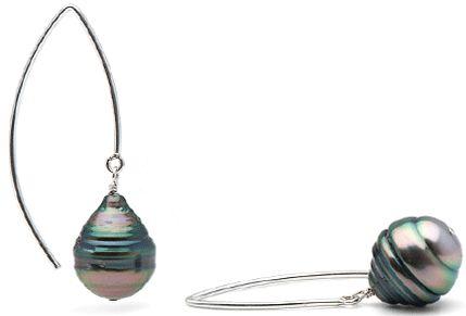 Pearl Paradise Tahitian Baroque Earrings US/CAN 8/17