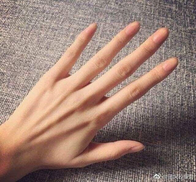 Veiny Hands Girl Mong Tay Ngon Tay Ban Tay