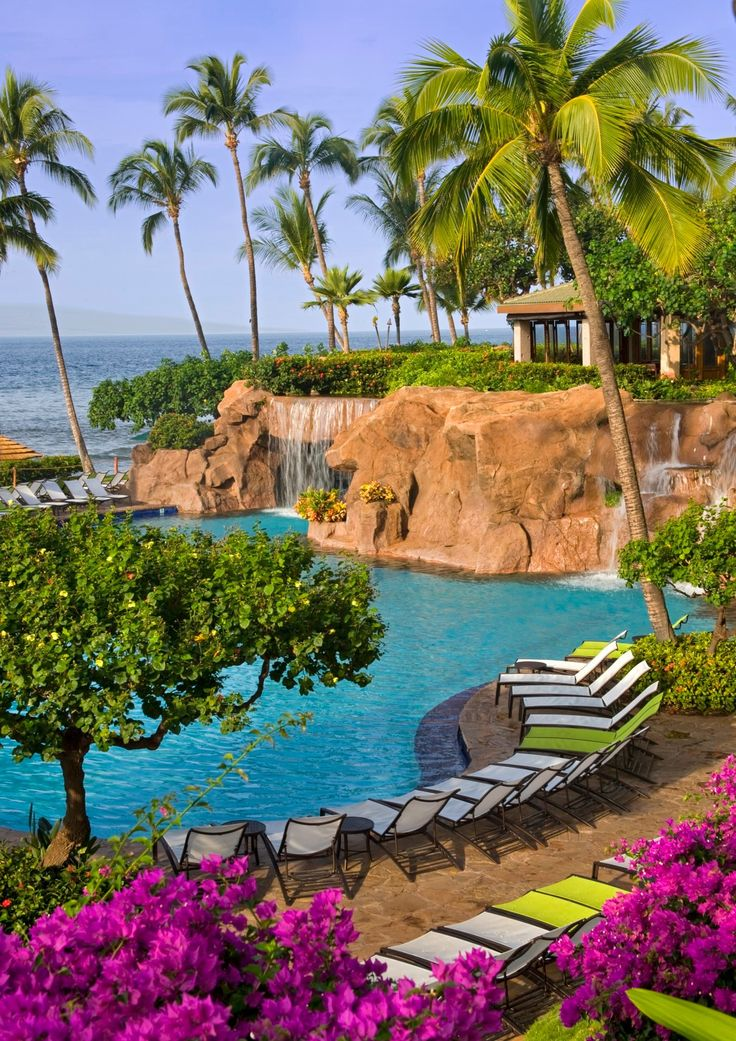 Hyatt Regency Maui Resort & Spa - stayed here on my honeymoon.  Great location, beautiful pool and grounds.  Kaui'i is still my favorite but this place is a good place to stay if you are vacationing in Maui.