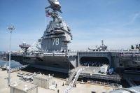 ALTA DEL PORTAAVIONES USS GERALD R. FORD (CVN 78) EN LA US NAVY