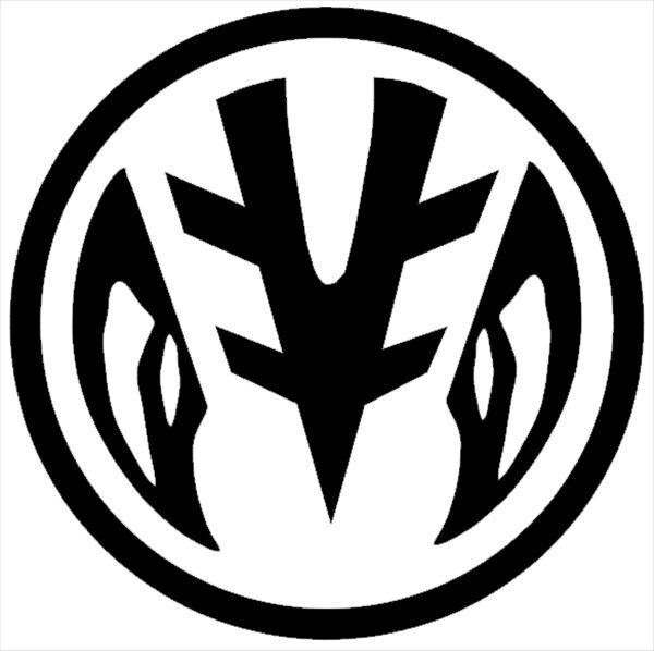 white ranger power coin symbol  going to get this on my sternum  man is that going to hurt