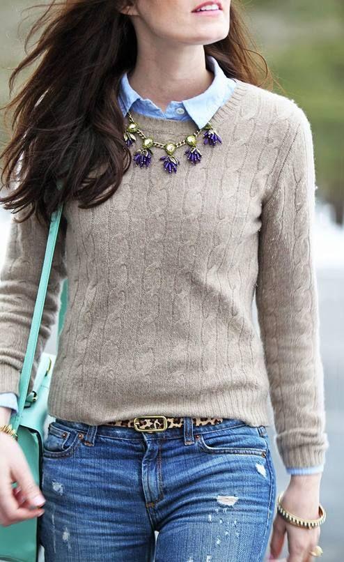 J. Crew Leopard Print Belt by Classy Girls Wear Pearls